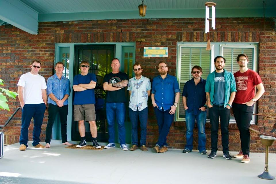 Nashville – LP5 recorded with Mark Nevers – Americana Fest – A plaque on Brisbane's Valley Mall